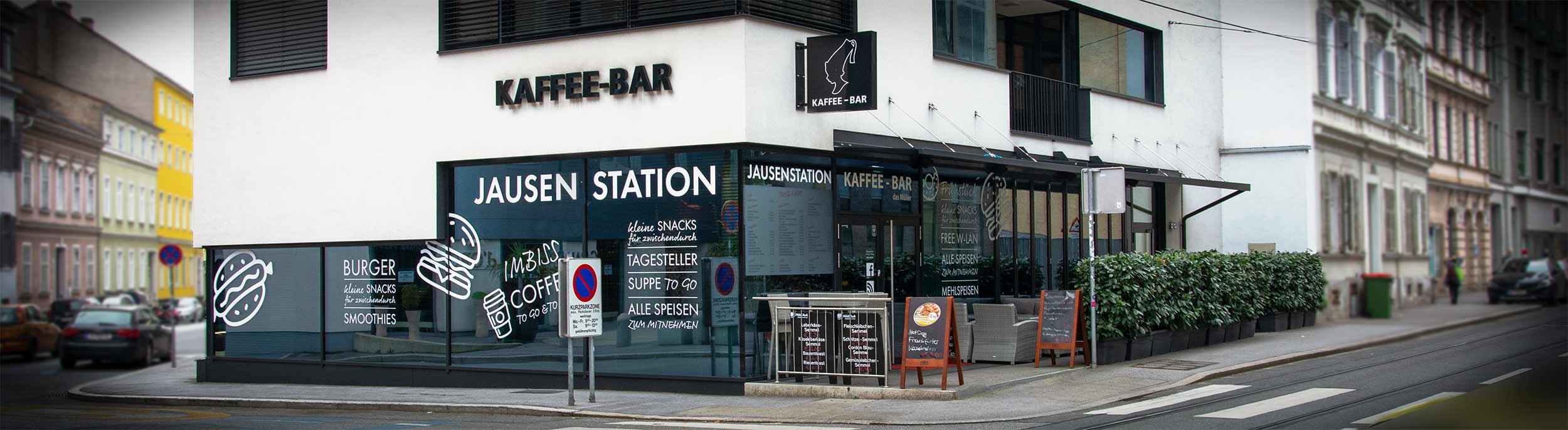 Kaffe-Bar Jausenstation Müller - Graz
